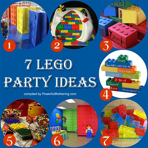 themed birthday decorations time 7 lego theme ideas