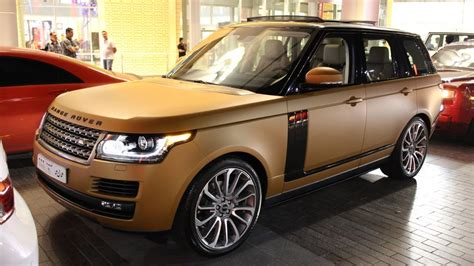 wrapped range rover cappuccino bronze frosted wrapped range rover