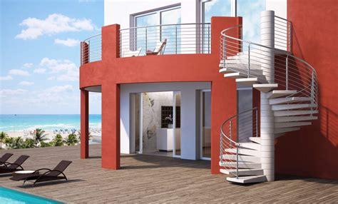 scale in cemento per interni scale in cemento per interno e per esterno a chiocciola o
