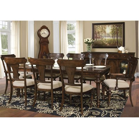 charleston table and chairs hekman charleston place dining table and side and arm