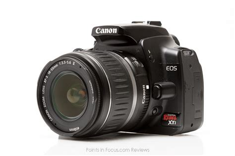 Dslr Canon Eos 400d canon eos 400d reviewed points in focus photography