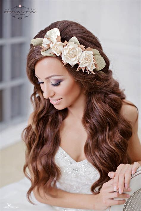beautiful hair wedding hairstyle for brides