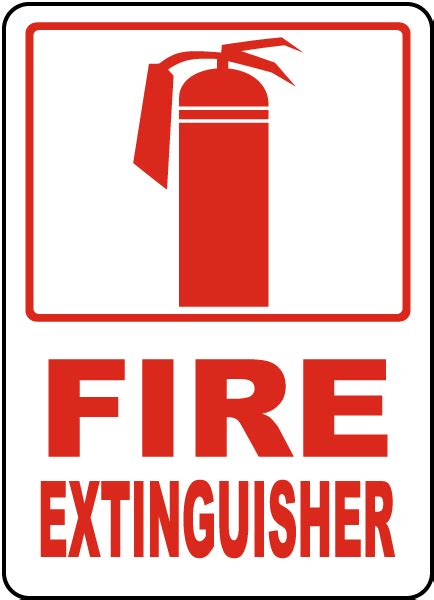 Sign Label Extinguisher extinguisher sign r5432 by safetysign