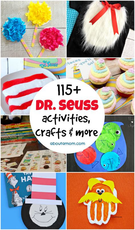 crafts and more ultimate list of dr seuss activities crafts more