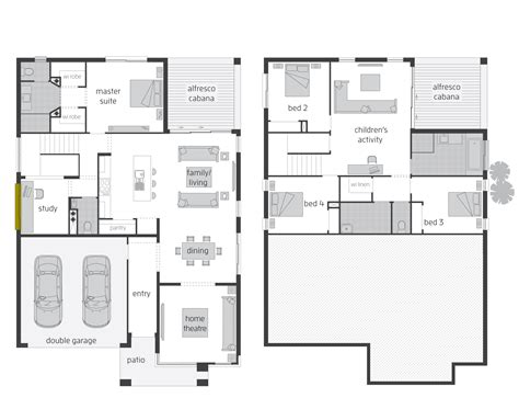 split level floor plan parkland floorplans mcdonald jones homes