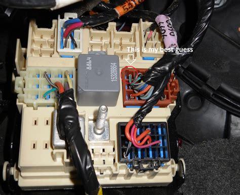 silverado speed sense wire chevrolet forum chevy