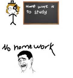Funny Memes Comic - homework meme