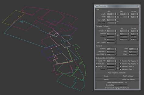 Floor Generator by Using Floor Generator Script By Bertrand Benoit 3d