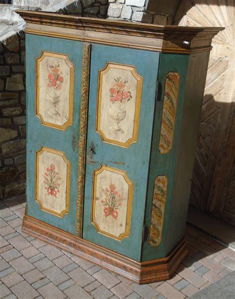 armadio dipinto armadio dipinto prov alto adige antichit 224 evelina