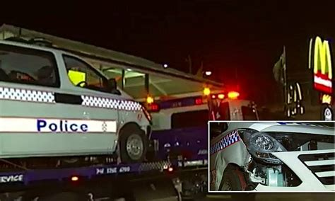 Mike Hunt Used Cars Brisbane Brisbane Car Rammed In Mcdonald S Car Park As Hunt