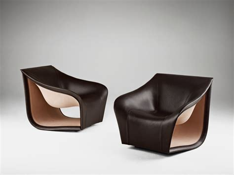 Split Leather Sofa Inspired By The Movement Of The Waves Split Leather Sofa Chairs Freshome