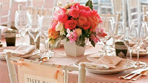 table setting southern living weddings southern living