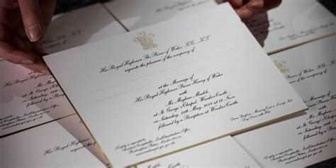 what did wedding invitations look like in the 1920 s photos invitations to prince harry and meghan markle s