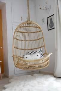 Two s company hanging rattan chair contemporary girl s room la la