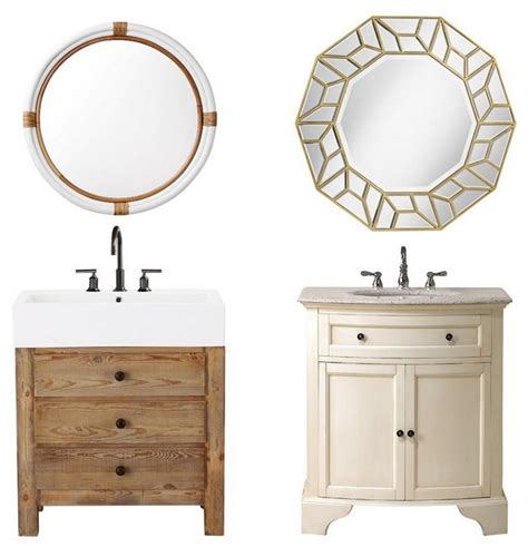 bathroom vanities and mirrors bathroom vanity mirror medleys centsational girl