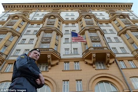 Us Embassy Moscow Letter us embassy mocks russian newspaper izvesta for publishing letter daily mail