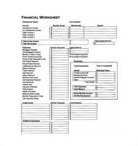 financial worksheet usmc worksheet amp workbook site
