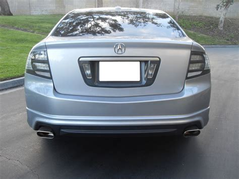2009 acura black front roof console 2004 2008 acura tl type s 3 2tl smoke clear all clear