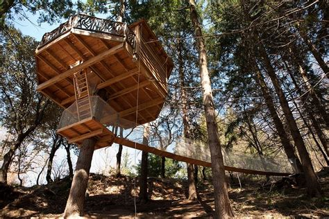 Crystal House Floor Plans by 21 Amazing Treehouse Accommodations Travel Away