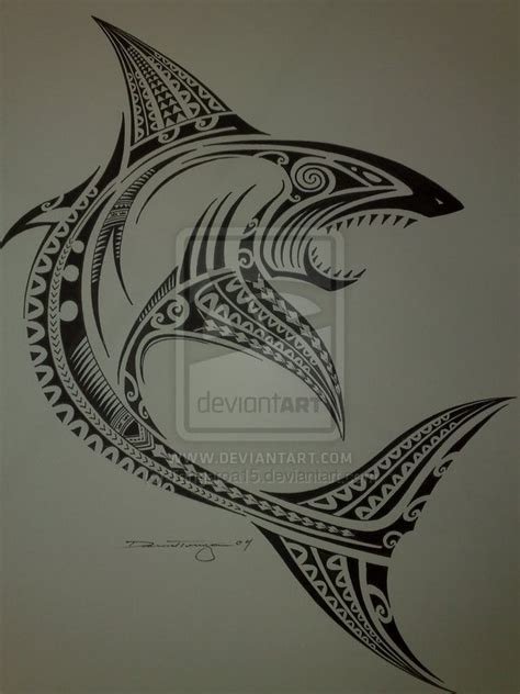tribal shark tattoos pinterest sharks galleries and