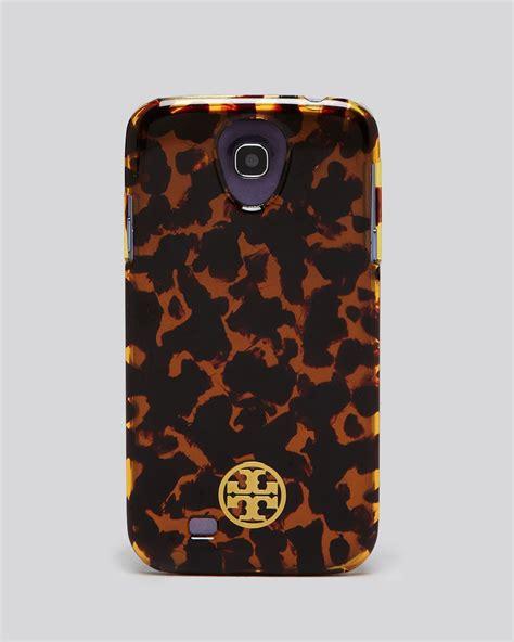 Casing Samsung S4 Gucci New Custom Hardcase burch galaxy s4 phone tortoise shell in brown tortoise lyst
