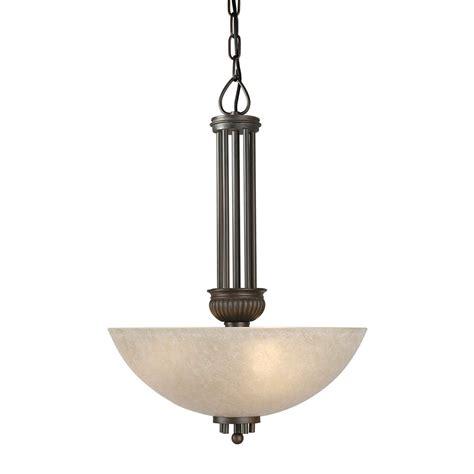 Large Bowl Pendant Light Forte Lighting 2352 03 32 3 Light Bowl Large Pendant Antique Bronze Atg Stores
