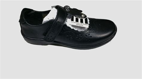 buckle my shoes scallop throat leather
