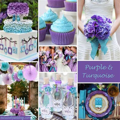 purple wedding color combination options exclusively weddings purple teal theme wedding ideas wedding ideas
