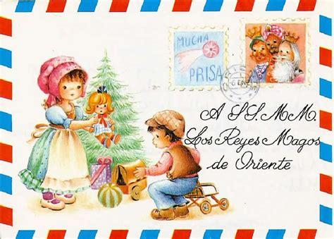 imagenes reyes magos para niños cartas reyes magos vintage para colgar del 193 rbol de navidad