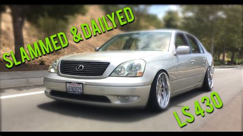 slammed lexus ls430 slammed vip lexus ls430 cinematic youtube