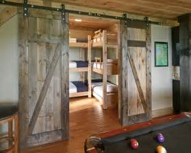 Plans For Twin Over Full Bunk Beds by Bedroom Design Ideas With Barn Door Home Design Garden