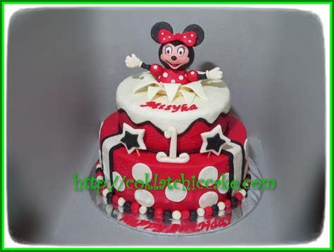 Kue Ulang Tahun Ukuran 22cm cake minnie mouse misyka jual kue ulang tahun