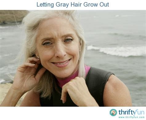 how to grow out gray hair that has been dyed letting gray hair grow out thriftyfun