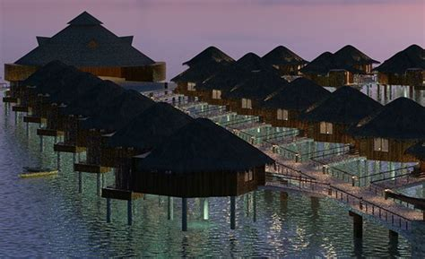 water bungalows in caribbean overwater bungalows coming to the caribbean points with