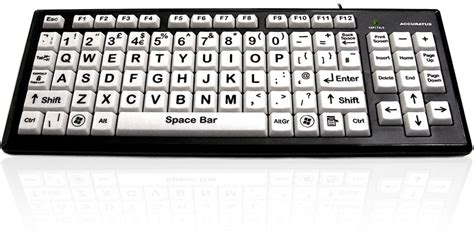 printing large letters on computer 7 best large print big key keyboards for visually