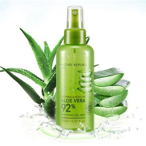 Nature Republic Aloe Vera Soothing Gel Mist etop brand nature republic soothing moisture aloe