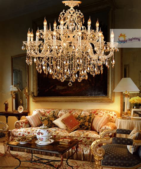 hotel chandeliers for sale gold aliexpress buy antique gold chandelier ls