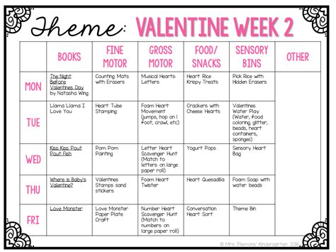 7 Plans For The Valentines Day by Tot School Tuesday Valentines Mrs Plemons Kindergarten