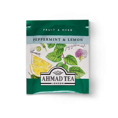 Ahmad Tea Of Peppermint Lemon Ahmad Tea Peppermint Lemon Relax 40 Grams