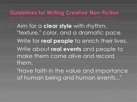 How To Write A Creative Nonfiction Essay by Writing Creative Nonfiction Essays