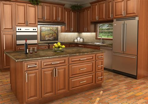 Kitchen Vanities by Buy Spice Maple Rta Ready To Assemble Kitchen Cabinets