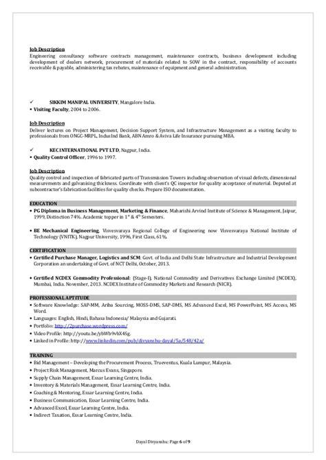 42a Description Resume resume