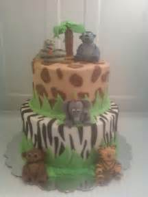 jungle book theme baby shower cake for maury