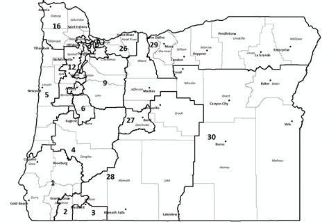 map of oregon districts why do democrats only 4 quot trifectas quot out of all the 50