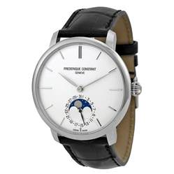 frederique constant slim line moonphase automatic s