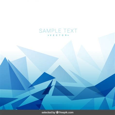 backdrop design graphic polygonal blue background vector free download