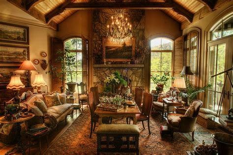 Old World Home Decorating Ideas Old World House On Lake Toxaway Lakes Furniture And