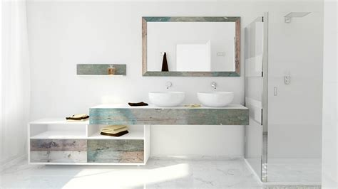 Beautiful Bathroom Vanity Weathered Wood Look Bathroom Vanities Stunningly Beautiful