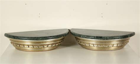 mensole marmo coppia di mensole con marmo mobili in stile bottega