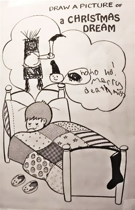 perspective are kids the advertisers shortcut to success 10 of the creepiest children s drawings ever bored panda
